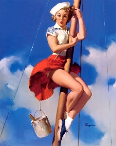 sittingpretty_1953 gil elvgren_